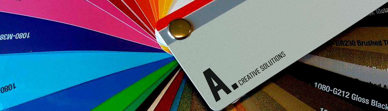A. Creative Solutions | Diseño gráfico, rotulación y vinilo en Segovia